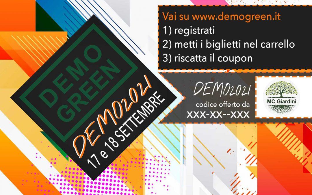 Biglietti Demo2021